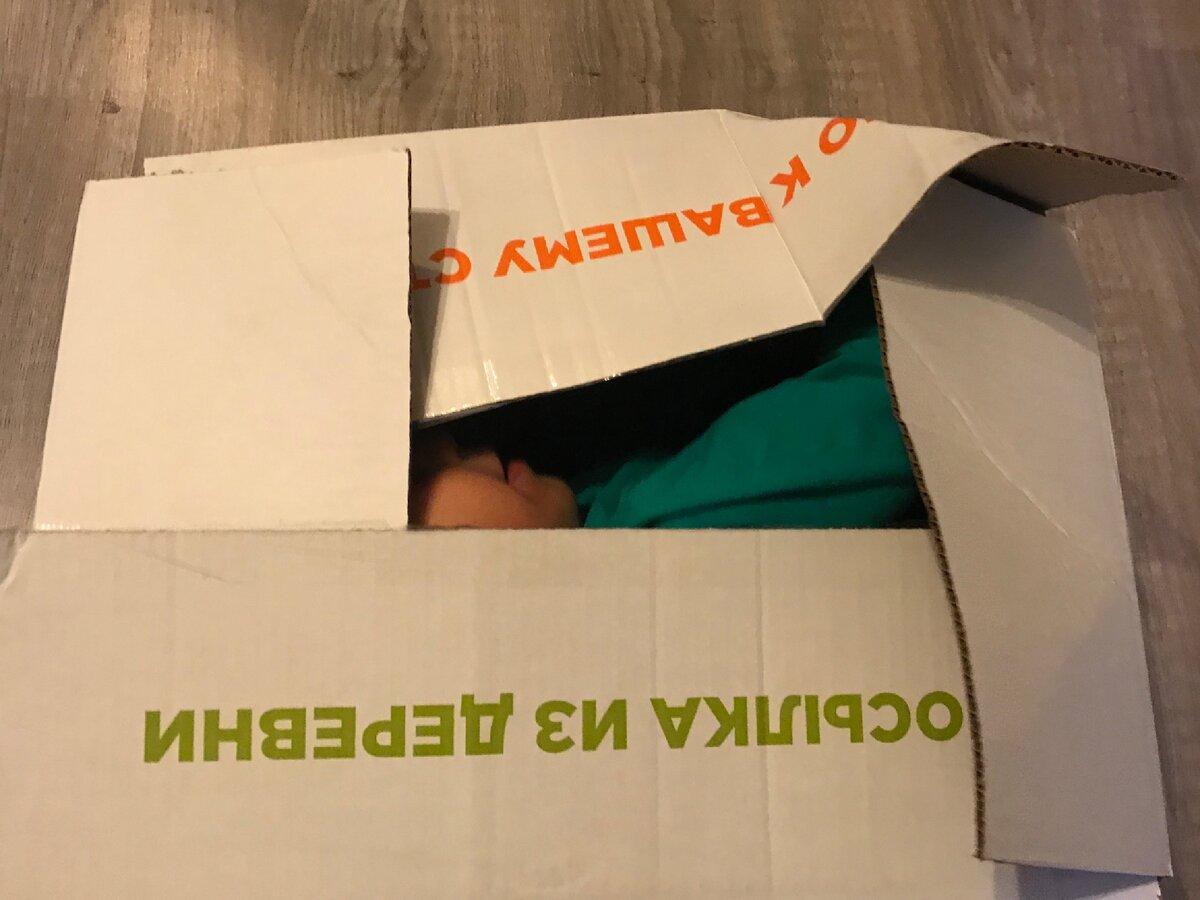 Реконструкция вскрытия коробки.