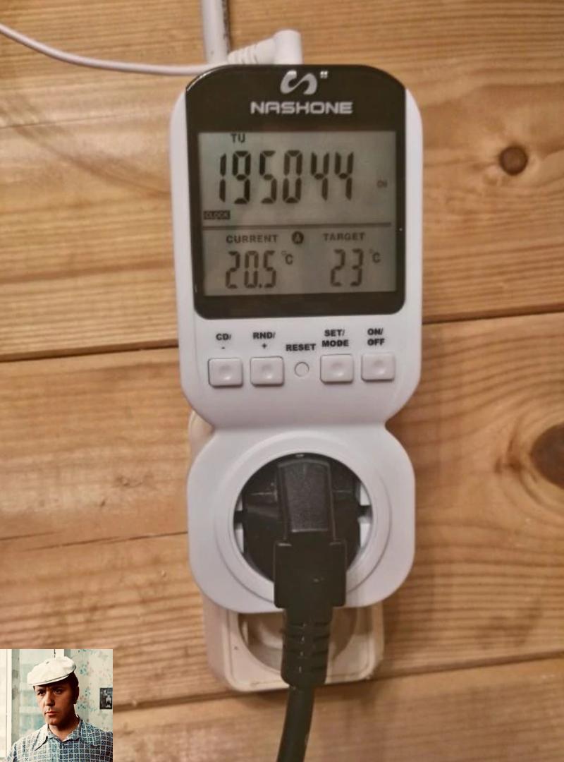 Розетка с таймером и термостатом. Фото отзыв