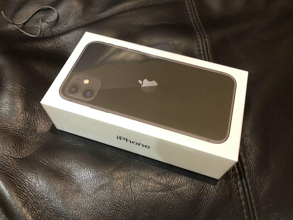 Новенький iphone 11