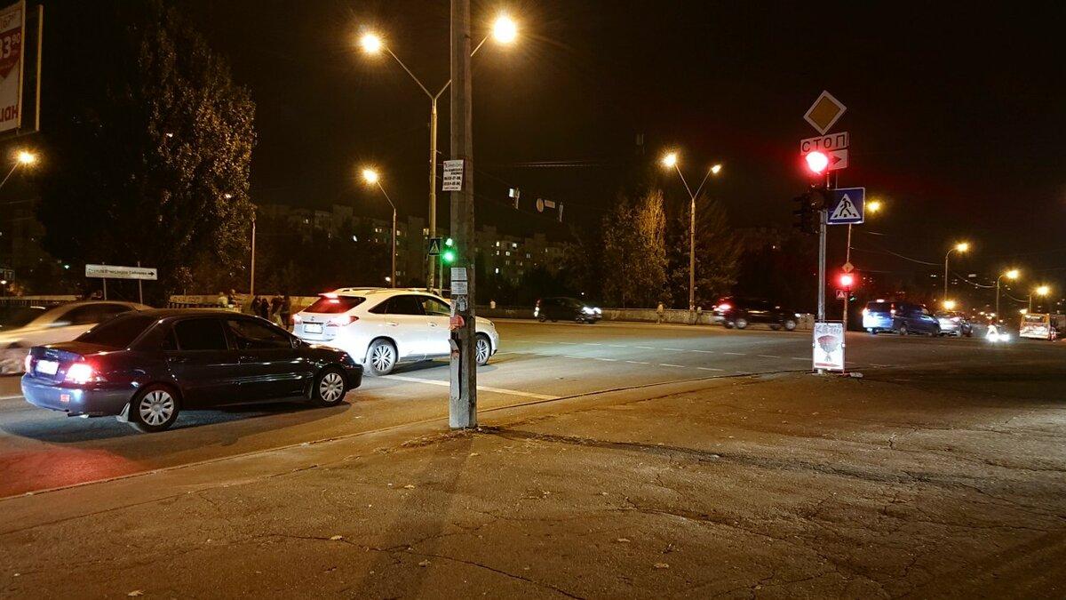 Примеры снимков ночью